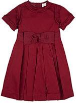 Lanvin TAFFETA A-LINE DRESS-RED SIZE 6
