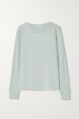 James Perse Cotton-terry Top - Light gray