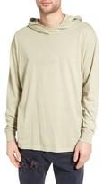 Zanerobe Men's Rugger Oversize Long Sleeve Hooded T-Shirt