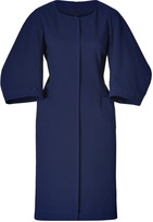 Jil Sander Ink Textured Cotton-Wool Dress