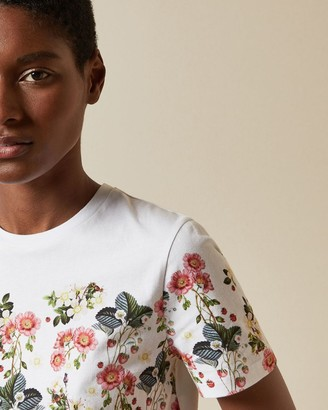Ted Baker Oracle Printed Cotton T-shirt