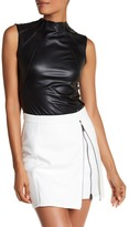 Bailey 44 Contribution Seamed Faux Leather Tank
