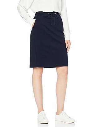 S'Oliver BLACK LABEL Women's 11.908.78.2881 Skirt, Blue 5959, 14 (Size: )
