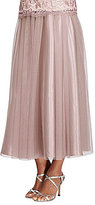 Alex Evenings Chiffon Tea-Length Skirt