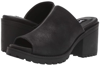Chinese Laundry Fair Play (Black Distressed) Women's Clog/Mule Shoes