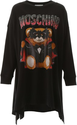 Moschino Bat Teddy Bear Dress