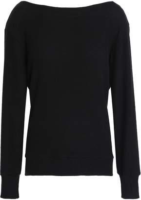 LnA Open-back Lace-up Tencel-blend Sweater