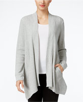 Style&Co. Style & Co. Open-Front Waffle-Knit Cardigan, Only at Macy's