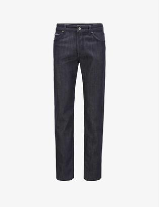 HUGO BOSS Regular-fit straight-leg jeans