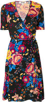 Diane von Furstenberg floral embroidered dress - women - Silk - 8