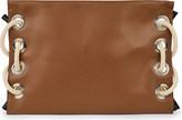 Marni Satelite leather clutch