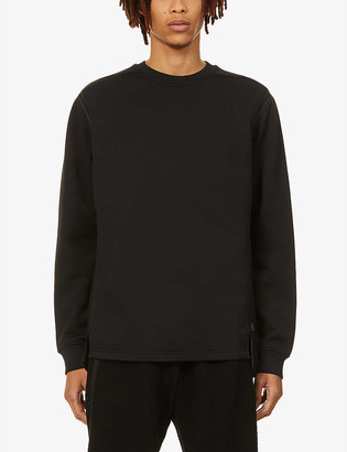 Stone Island Shadow Project Shadow Project piped jersey sweatshirt