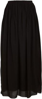 Anna October Crepe Midi Skirt
