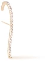 Paige Novick Single Diamond Pave Hook Earring