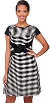 As Is SA by Seth Aaron Regular Striped Knit Dress