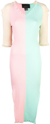 Neith Nyer Colour Block Knit Dress