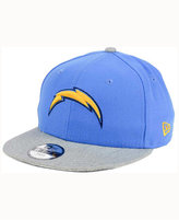 New Era Kids' San Diego Chargers Heather 9FIFTY Snapback Cap