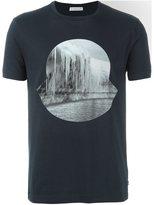 Moncler icicle print logo T-shirt - men - Cotton - L