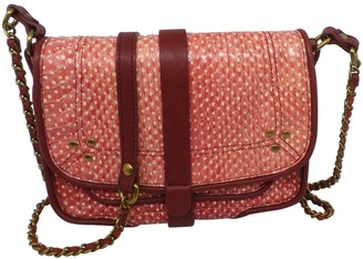 Jerome Dreyfuss Jojo Red Water snake Handbags