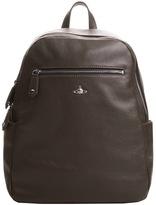 Vivienne Westwood Leather Backpack Brown