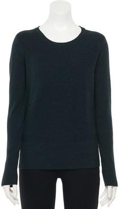 Apt. 9 Women's Mix Stitch Pullover Sweater