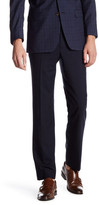 Brooks Brothers Black Sharkskin Flat Front Trouser