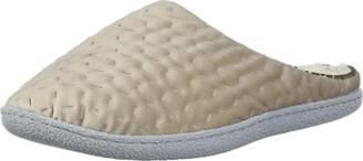 Dearfoams Women's Textured Knit Clog Slipper