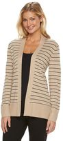 Croft & Barrow Women's Essential Open Front Cardigan