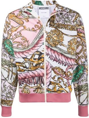 Moschino Fantasy Pattern Track Style Jacket