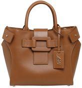 Roger Vivier Small Pilgrim De Jour Leather Bag