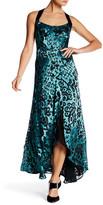 Nanette Lepore Sleek Sheath Maxi Dress
