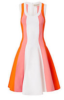 Emilio Pucci Paneled Knit Flare Dress
