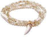 LuLu*s Dazzling Finale Ivory Wrap Bracelet