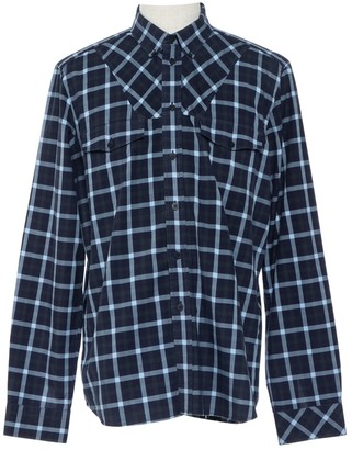 Givenchy Navy Cotton Shirts