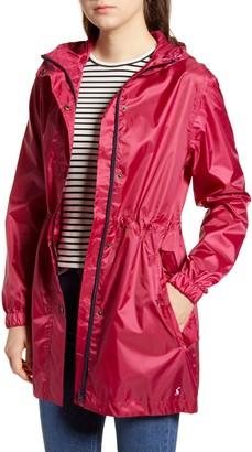 Joules Waterproof Packaway Raincoat