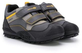 Geox Kids Panelled Sneakers