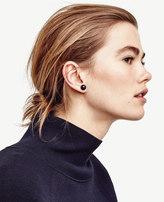 Ann Taylor Beaded Orb Stud Earrings