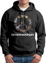 Sarah Men's Overwatch OW Logo Hoodie S