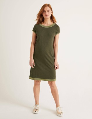 Sena Embroidered Jersey Dress