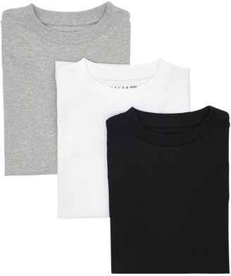 Alyx Pack Of 3 Cotton Jersey T-Shirts