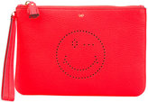 Anya Hindmarch clutch bag - women - Leather - One Size