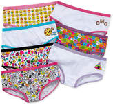 Asstd National Brand 7 Pair Brief Panty Girls