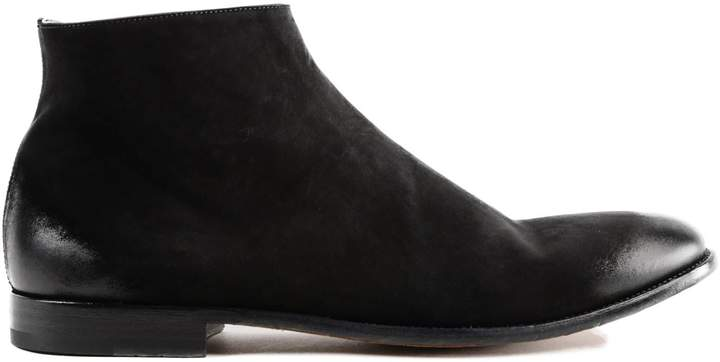 Alexander McQueen Almond Toe Ankle Boots