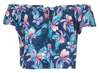 Rip Curl TROPIC TRIBE TOP women's Blouse in Blue