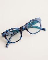 Peepers Focus Nordic Navy Faux-Tortoiseshell Reading Glasses