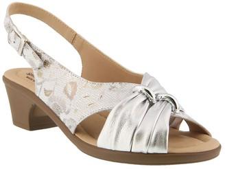 Spring Step Leather Slingback Sandals - Champeta