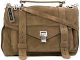 Proenza Schouler PS1 medium satchel - women - Suede - One Size