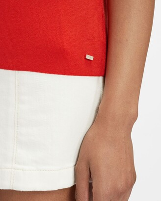 Ted Baker Scallop Detail Knitted Top