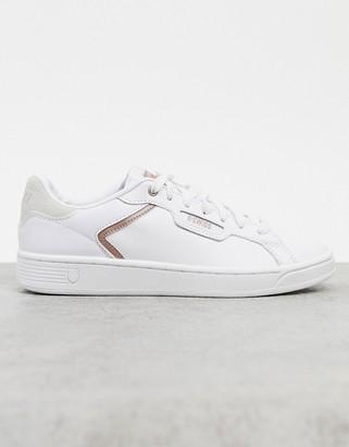 K-Swiss Clean court II CMF sneakers in white