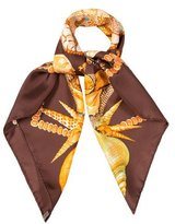 Hermes Rocaille Silk Scarf